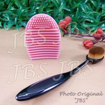 JBS Makeup Brush Cleaner Cleaning Washing Foundation Brushegg Cosmetic Pembersih Kuas Make Up Multi Colour