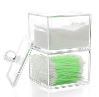Kapas kapas makeup kuku handuk swab kotak penyimpanan kotak penyimpanan kotak penyimpanan kotak penyimpanan