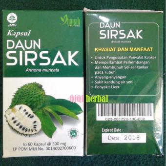 Kapsul Daun Sirsak Inayah - Ekstrak Herbal Anti Kanker