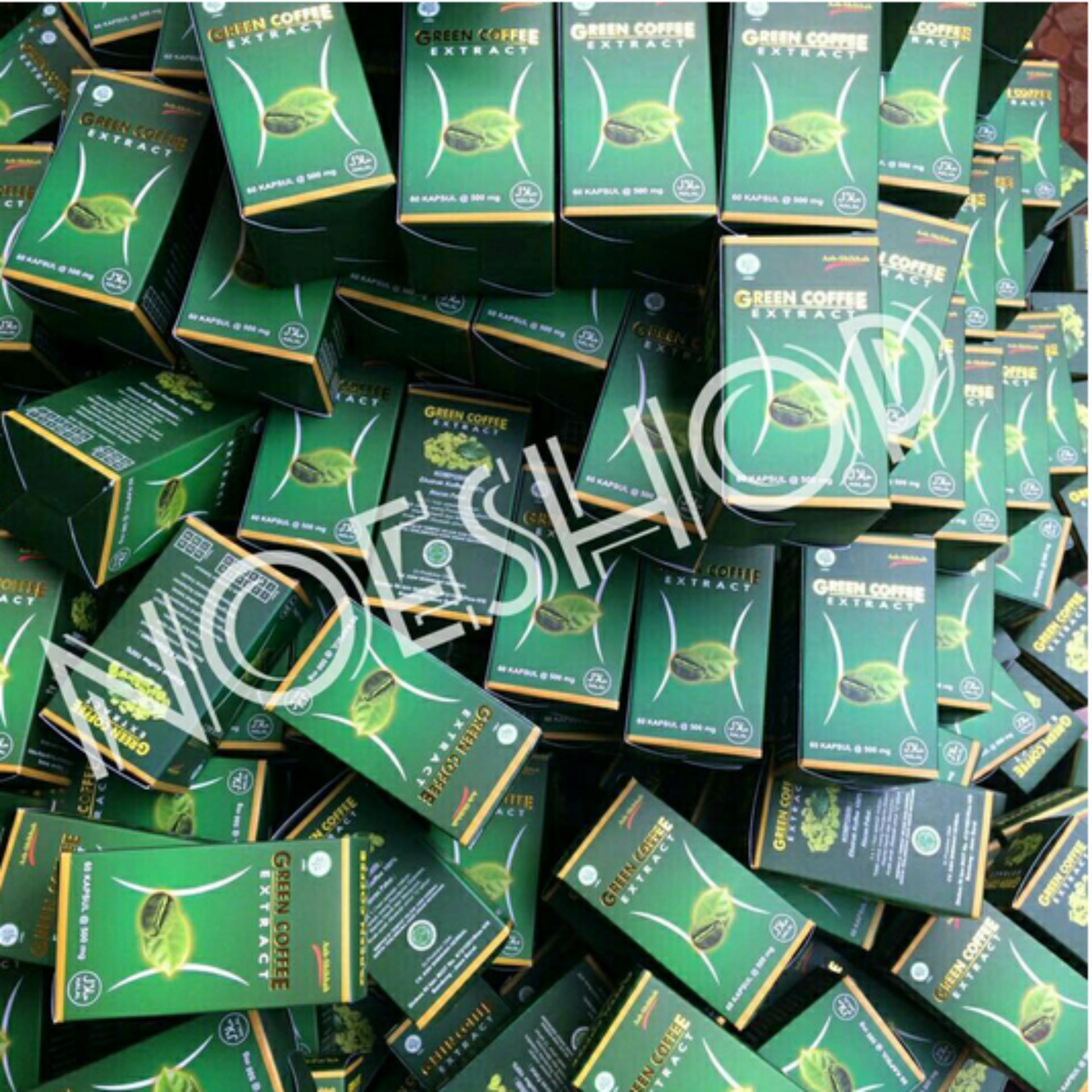 Harga Baru Kapsul Kopi Hijau Green Coffee Obat Pelangsing Alami Diet Bean Herbal