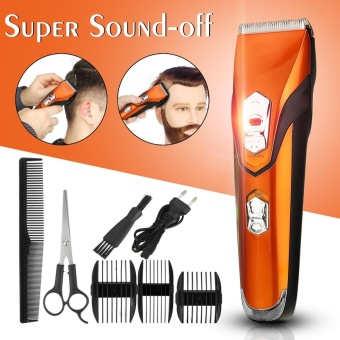 Harga Kemei Hair Trimmer Clipper Cutter Rechargeable Cutting Electric Grooming Shaver – intl Murah
