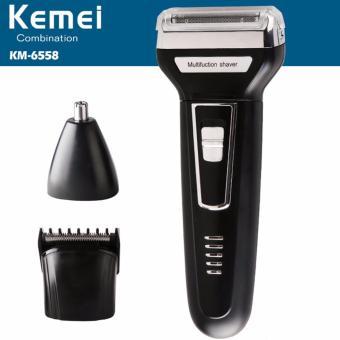Detail Gambar Produk Kemei KM 6558 Multifunsional Shaver 3 in 1 Alat  cukurKumis . 4a2c5bf001