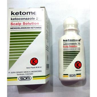 Ketomed Scalp Solution Menghilangkan Ketombe - Shampo Anti Ketombe - Shampoo Anti Jamur - 60 ml