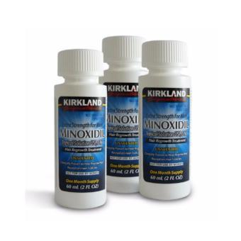 Harga Kirkland Minoxidil Hair Regrowth 5% Penumbuh Botak + FREE Pipet Murah