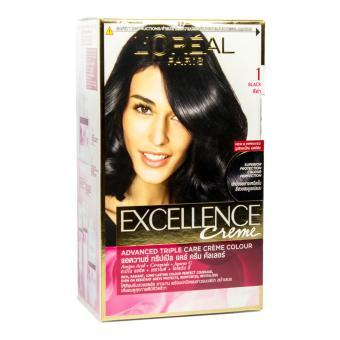 Harga L'Oreal Excellence Hair Color Hitam Alami 1 Murah