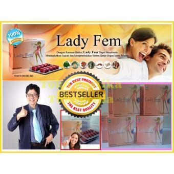 LadyFem Original Kapsul Herbal Spesialis Masalah Kewanitaan