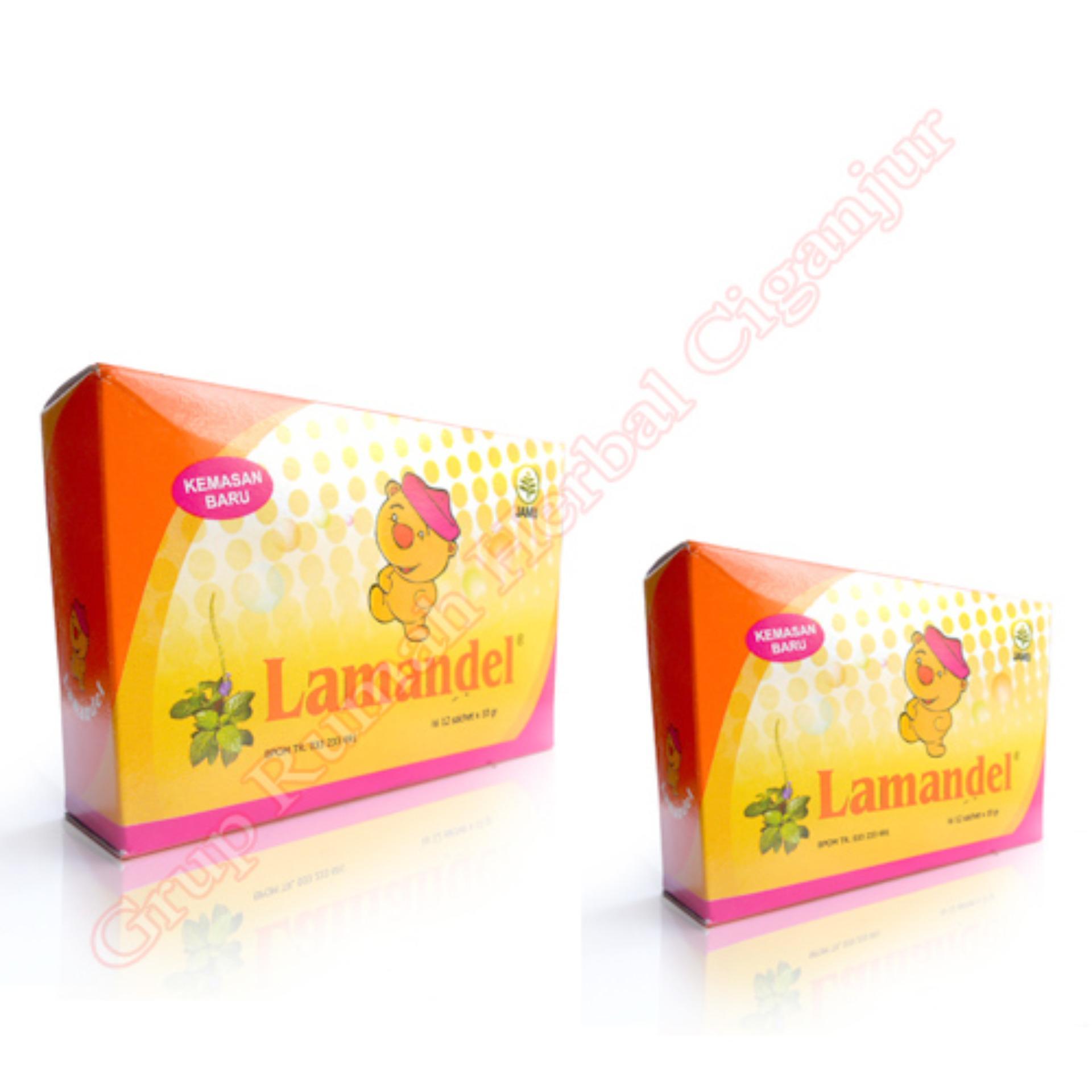 Flash Sale Lamandel Obat untuk Amandel - Paket 2 Kotak (1 kotak isi 12 saset
