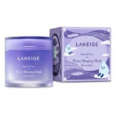 Laneige Water Sleeping Pack Mask Night Cream Krim Malam Masker Wajah Lavender - 70ml