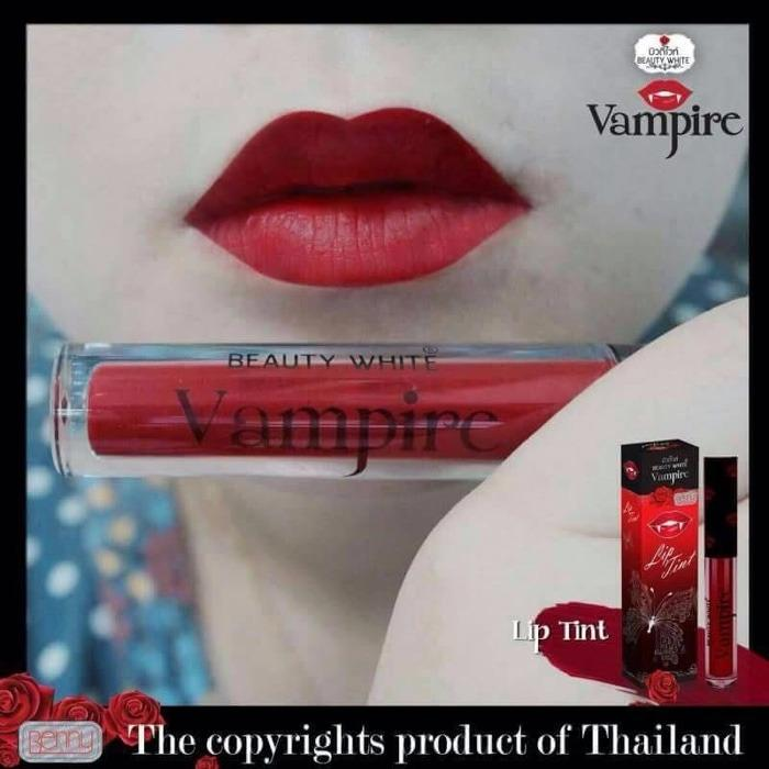 LIP TINT / LIPTINT VAMPIRE BENNY THAILAND ORIGINAL MAKE UP PEWARNA PEMERAH BIBIR LIP LINER LIPSTIK