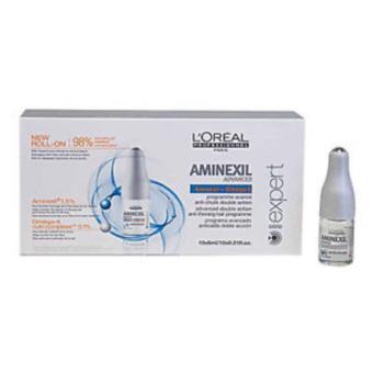 Harga LOREAL AMINEXIL ADVANCED 10 AMPUL/RAMBUT RONTOK Murah