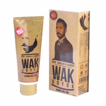 Harga Lucky Cream Penumbuh Jambang Rambut WAK DOYOK Original – Kemasan 75ml Murah