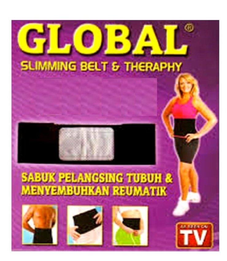 Lucky - Korset Pelangsing Tubuh / Perut - Slimming Belt Sabuk Kesehatan Global .
