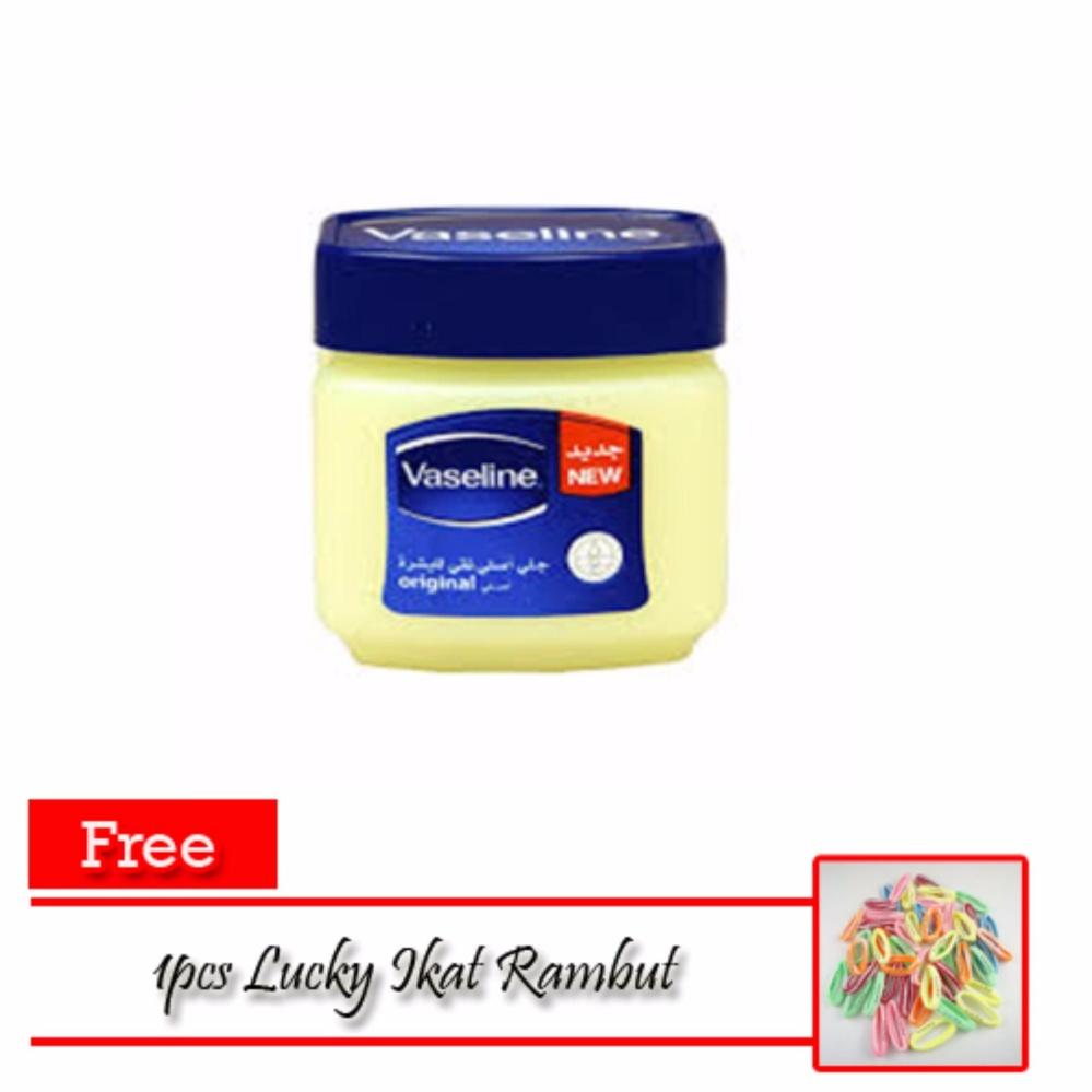 Hoki Cod Vaseline 60ml Petroleum Jelly Asli Murni 100percent Arab 120ml Lucky 100 Original Free