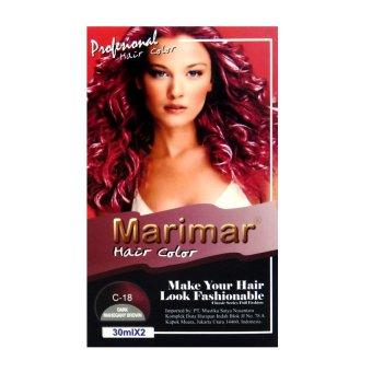 Harga Marimar Semir Rambut / Cat Rambut 30MLX2 – C18 Murah