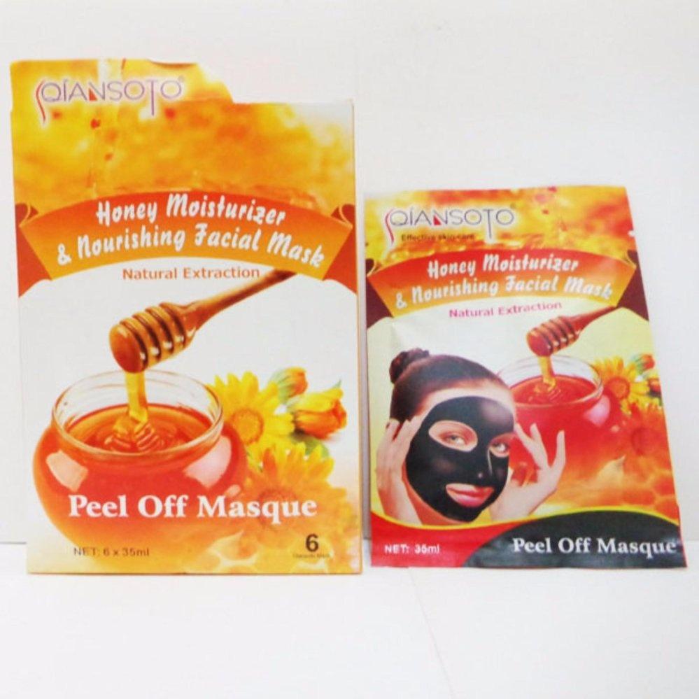 Qiansoto Masker Wajah Honey Memudarkan Flek Hitam Di Rorec Nourishing Acne Treatment Face Mask Madu Anti Jerawat Gentong Kuning Peel Off Isi 1 Paket 2pcs
