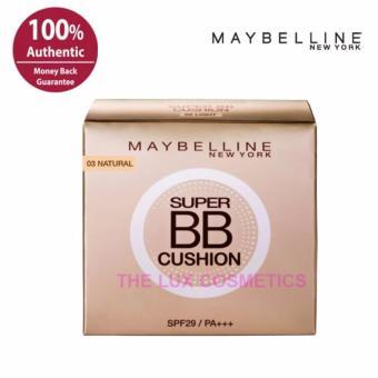 Maybelline Super BB Cushion 03 Natural | Cocok Untuk Kulit Kering Normal