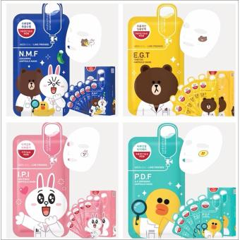 ... Mediheal Line Friends- 4 in 1 Bundle Mask Pack - 3 ...