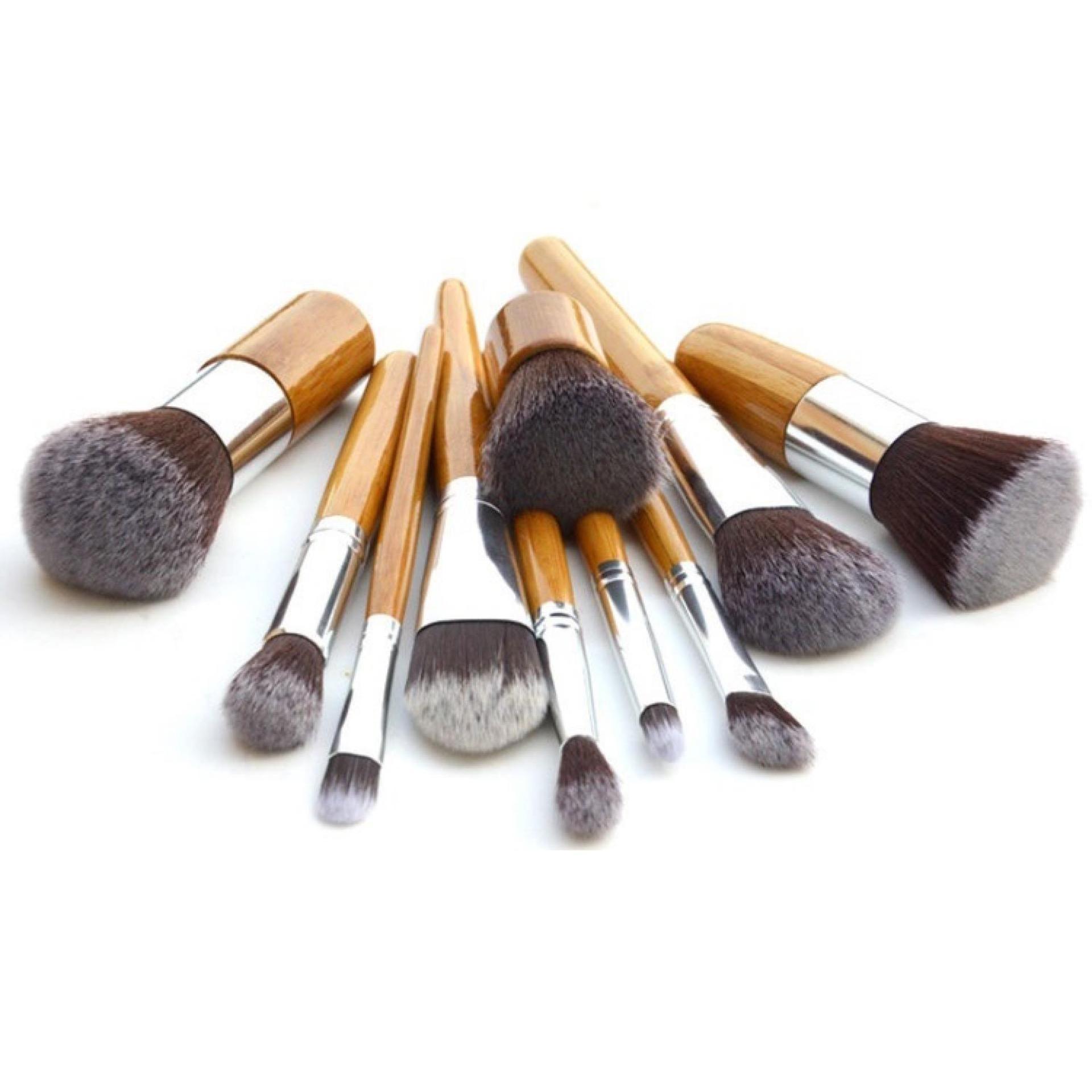 Terbaik Murah Mellius Cosmetic Make Up Brush 11 Set With Pouch Kuas