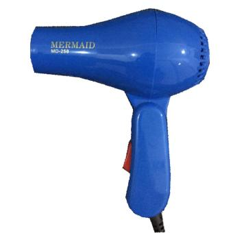 Harga Mermaid Hair Dryer MD-258 – Biru Murah