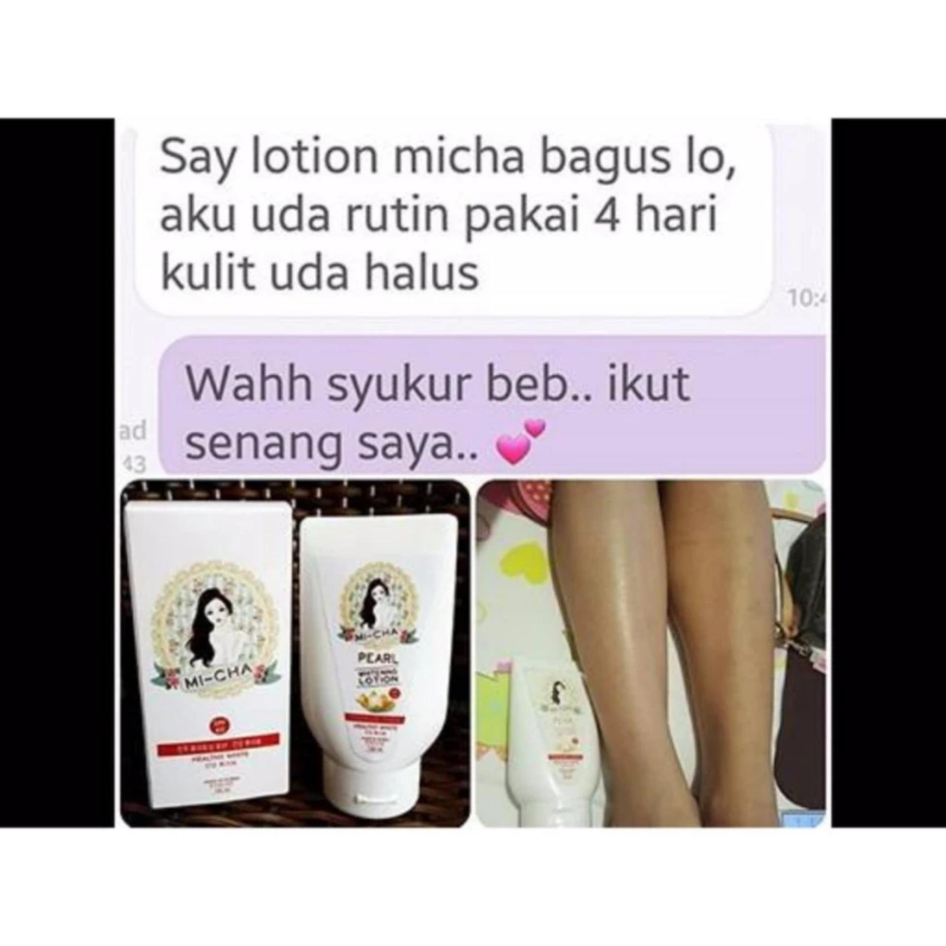 Micha Lotion Whitening Korea Original - Lotion Pemutih Korea /Lotion Glowing Pengkilat .