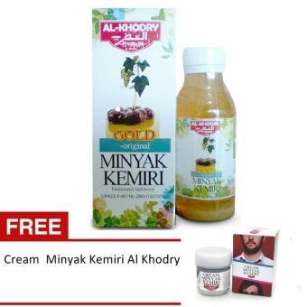 Harga Minyak Kemiri Gold Al Khodry – Penumbuh Rambut + Free Cream Minyak Kemiri Al Khodry Murah