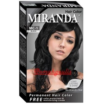 Harga Miranda Hair Color-30ml – Black Murah