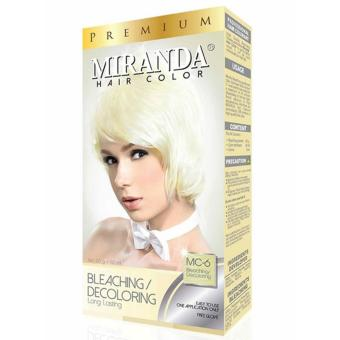 Harga Miranda Hair Color Bleaching [MC-6] Murah