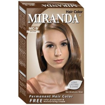 Harga Miranda Hair Color Mc 9 – Brown 30ml Murah