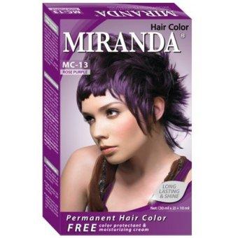 Harga Miranda Hair Color Mc13- Rose Purple 30 Ml Murah