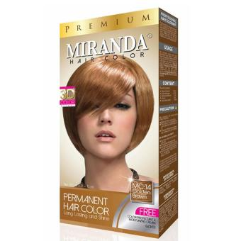 Harga Miranda Hair Color Mc14 – Golden Brown Murah