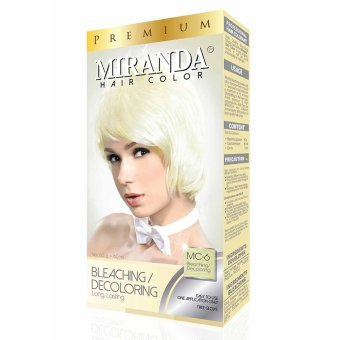Harga Miranda Hair Color Premium-60ml Bleaching Murah