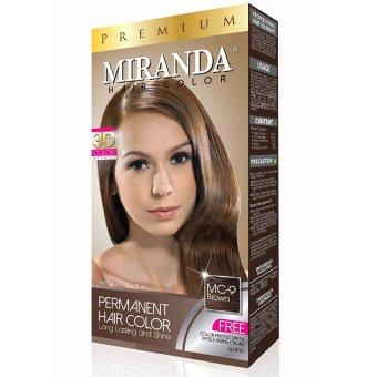 Harga Miranda Hair Color Premium-60ml – Brown Murah
