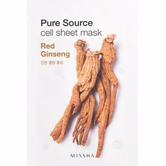 Missha - Pure Source cell sheet mask - 5 masks Bundle A - 3