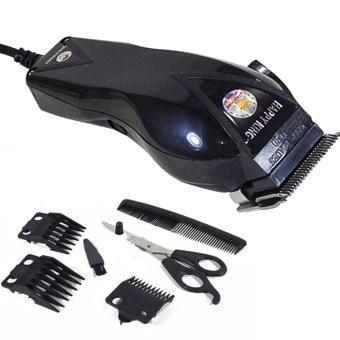 Detail Gambar Produk Modernlifeshop Hair Clipper Alat Cukur Potong Gunting Rambut Hitam Terbaru