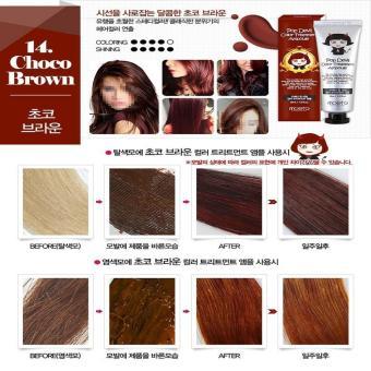 MOETA Pop Devil Color Treatment Ampoule - 13 Choco Brown