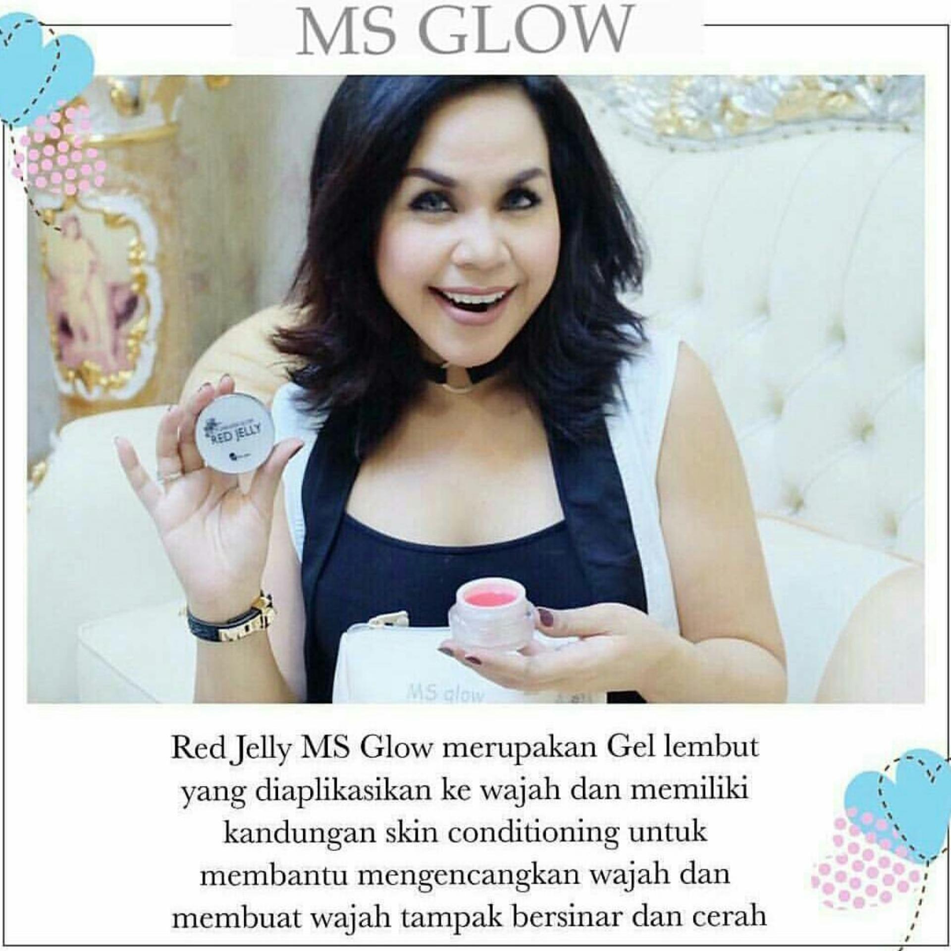 MS GLOW RED JELLY ORIGINAL .