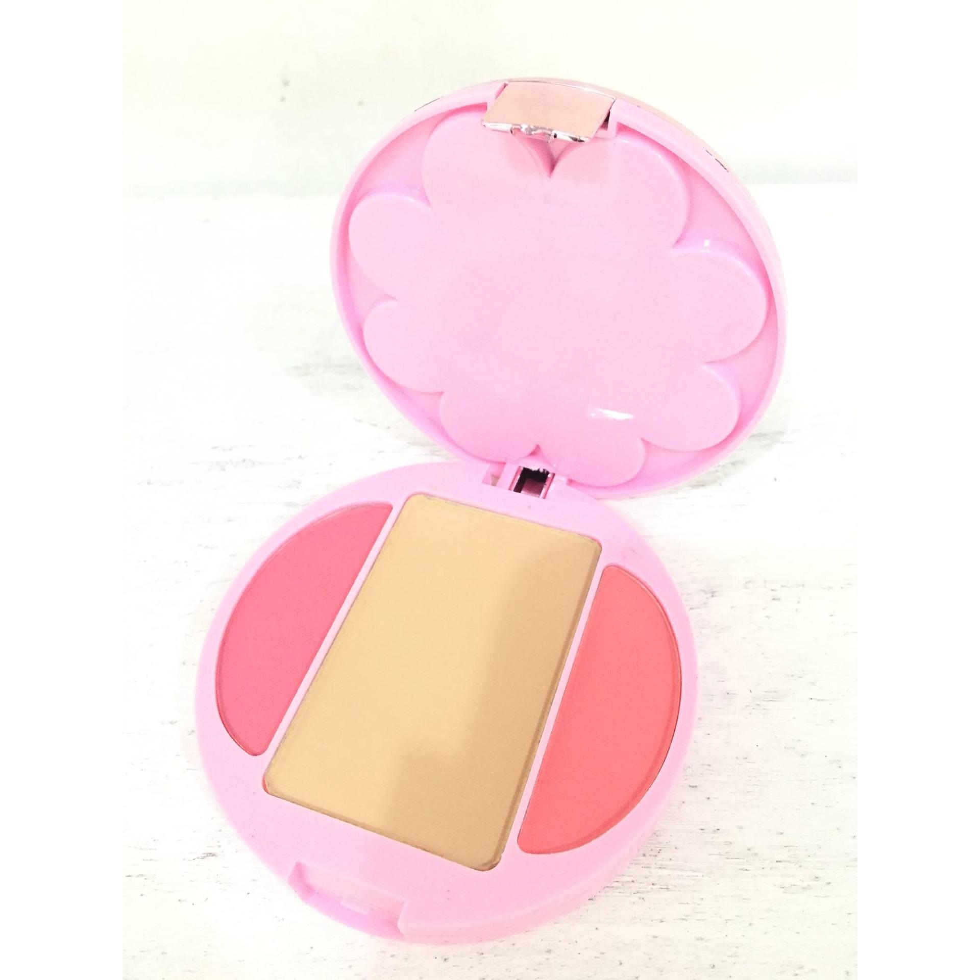 Mukka Eyeshadow 35 Collors Blusher 2 Item Daftar Harga Eye Shadow 7016 Travel Cosmetic Blush Lip Pallete
