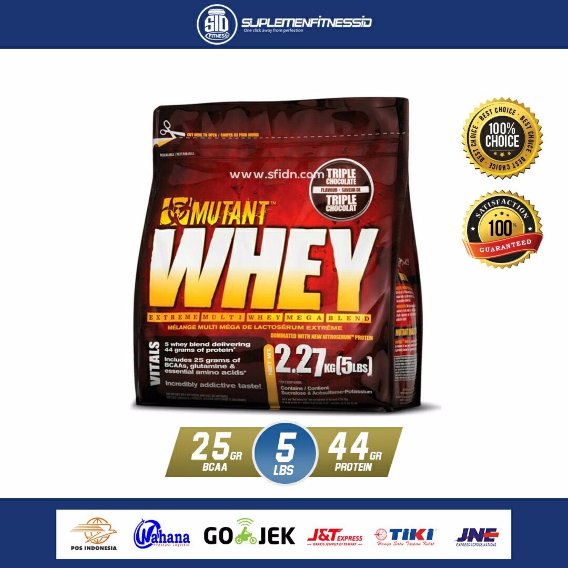 Dymatize Super Mass Gainer New Packaging 12 Lbs Resmi Lisensi Dni Source · Mutant Whey 2