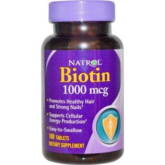 Harga Natrol Biotin 1000 mcg – 100 Tablets Murah