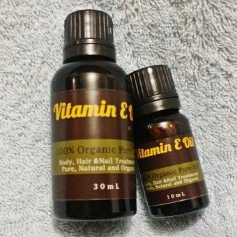 Harga Natural Hut – Natural Vitamin E Oil Untuk Rambut Dan Kulit – 10ml Murah