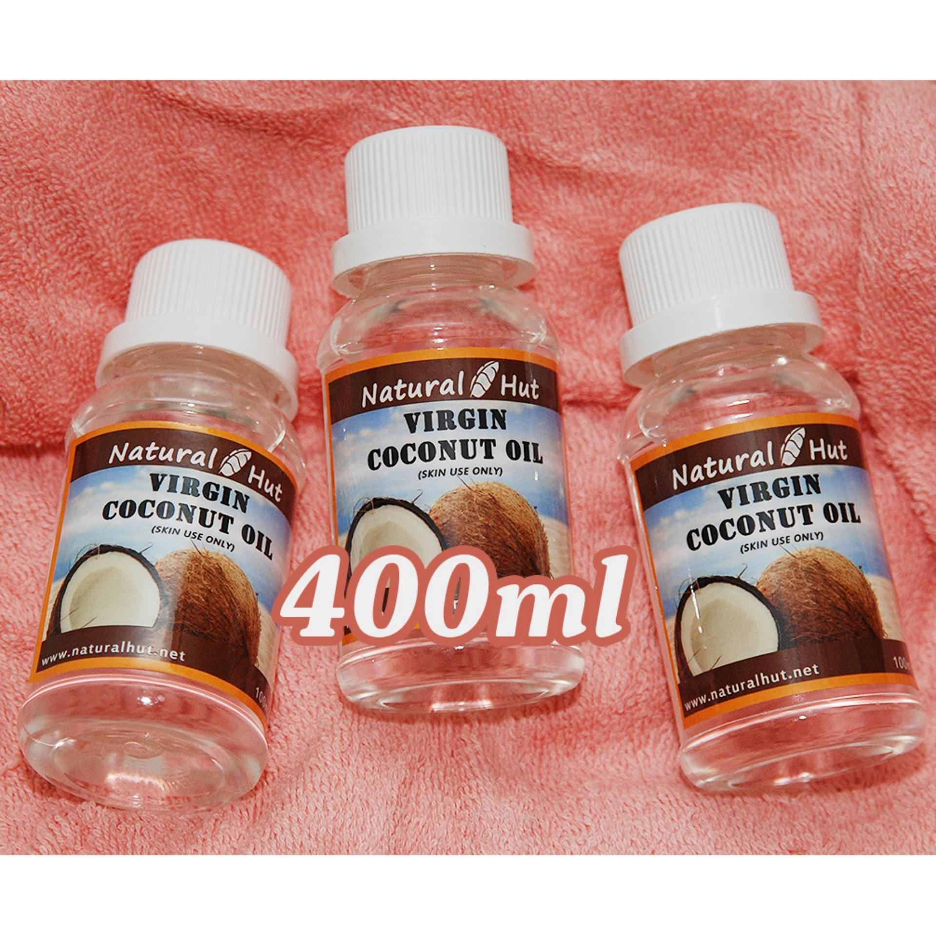 ... Natural Hut - Pure Virgin Coconut Oil (Vco) 400ml ...