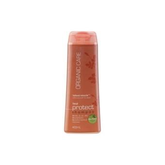 Gambar Nature s Organics Care Heat Protect Shampoo (400ml) Mengatasi Rambut Rusak Shampoo Organik