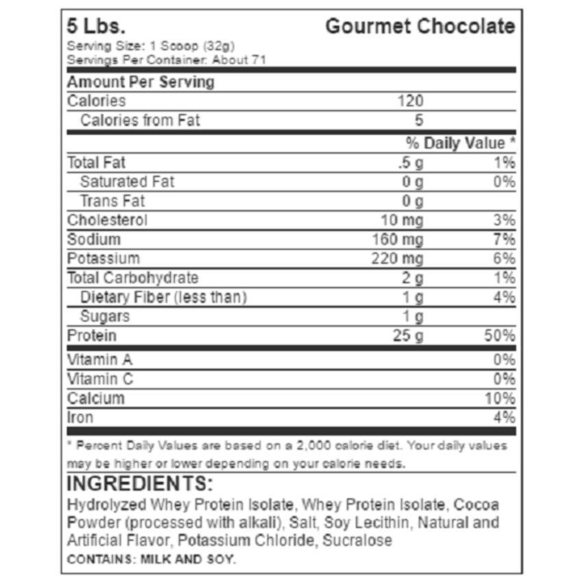 New Dymatize Iso 100 RESMI Lisensi DNI dan BPOM 5 lbs - Gourmet .