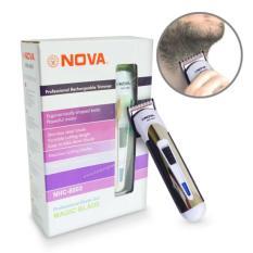 Nova Alat CUkur Praktis NHC 6003 / Mesin Cukur Portable Cukur Rambut, Kumis, dan Brewok