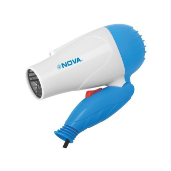 Harga Nova Hair Dryer Lipat – Biru Murah