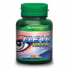 NUTRIMAX CLEAR VISION With Eyebright Herb - 60 Tablets