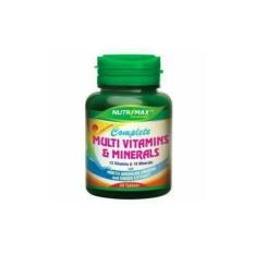Nutrimax Complete Multivitamins & Minerals 30 tablets