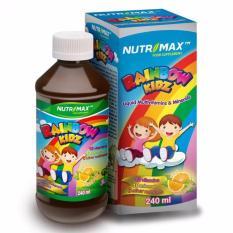 NUTRIMAX RAINBOW KIDZ Liquid Multivitamin Dan Minerals - 240 ML