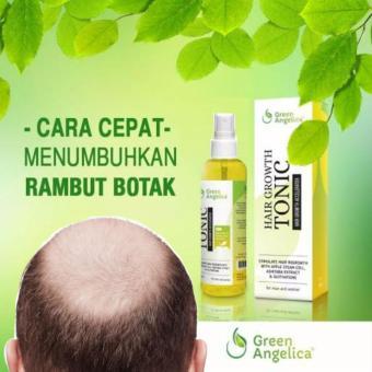 Harga Obat Penumbuh Rambut Botak Cepat Mengobati Kebotakan Green Angelica Hair Tonic Mencegah Rambut Botak di Usia Muda Murah