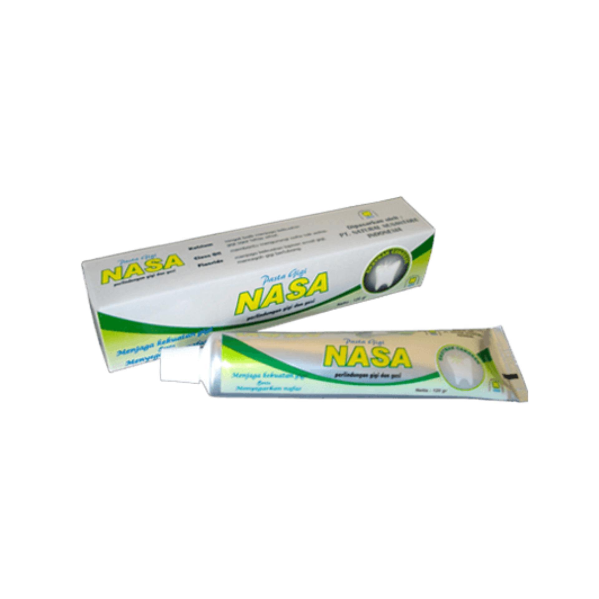 Harga Penawaran Odol Pasta Gigi Nasa Pemutih Gigi Dan Penghilang Bau